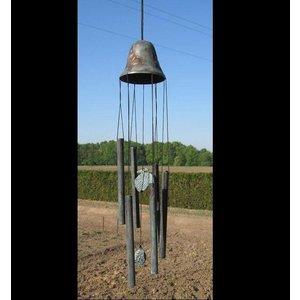 Eliassen Windspiele Bronze große Glocke mit Ananas