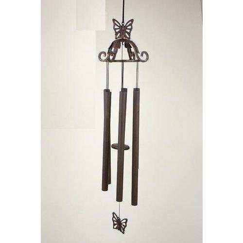 Eliassen Windspiel Bronze 70 cm Schmetterling