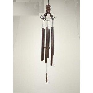Eliassen Wind chimes bronze 70 cm pineapple