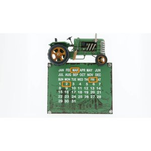 Eliassen Traktor calendar green