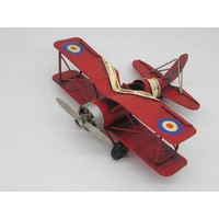 Miniature model Airplane red small