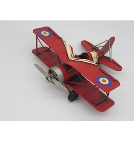 Eliassen Miniature model Airplane red small