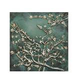 Eliassen 3d malerei metall 60x60cm mandelblüte