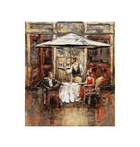 Eliassen Schilderij metaal 3d  70x60cm   Saampjes