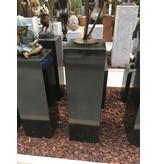 Eliassen Base black granite polished 30x30x100cm high