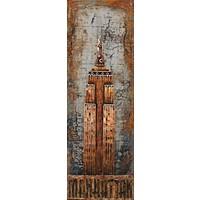 Malerei Metall 3d 50x150cm NYT