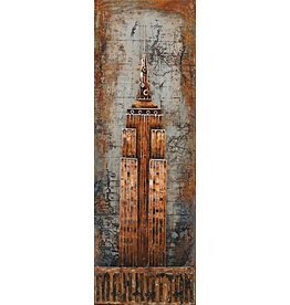 Eliassen Painting metal 3d 50x150cm NYT