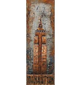 Eliassen Schilderij metaal 3d 50x150cm NYT