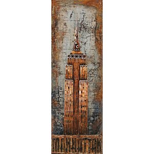 Eliassen Malerei Metall 3d 50x150cm NYT