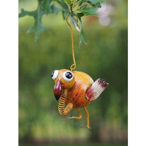 Bird iron hanging