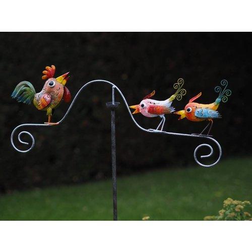 Eliassen Tumbler metal Chicken with birds