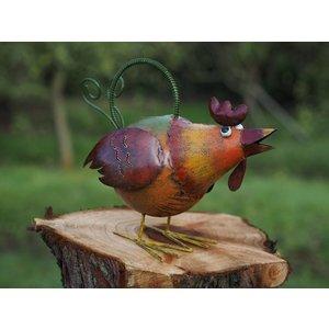Eliassen Metal figure chicken watering can