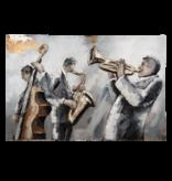 Eliassen 3D Malerei 90x60cm Orchester