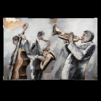 3D Malerei 90x60cm Orchester