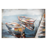 3D painting 120x80cm Boats