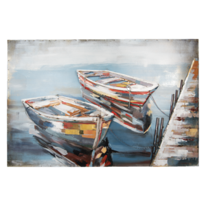 Gave 3D painting 120x80cm Boats