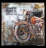Eliassen 3D schilderij 100x100cm  Motor