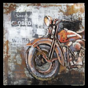 Eliassen 3D painting 100x100cm Motor