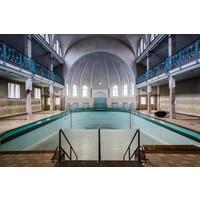 Alu-Dibond Malerei 148x98cm Pool