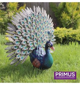 Primus Figure showing off peacock super