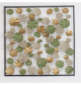 Wall decoration 3d with frame Arabes 115x115cm