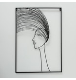 Wanddekoration 3d Haariger Junge