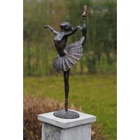Beeld brons ballerina 65cm