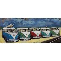 Malerei 3d Metall 60x150cm Reihe Vans
