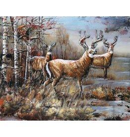 Eliassen Painting metal 3d 80x120cm Veluwe