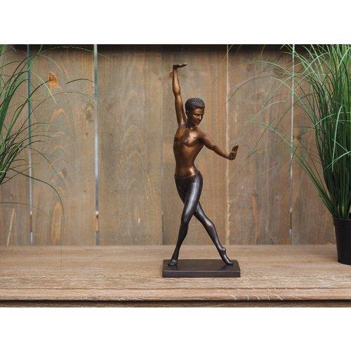 Eliassen Beeld brons Balletdanser Mannelijk