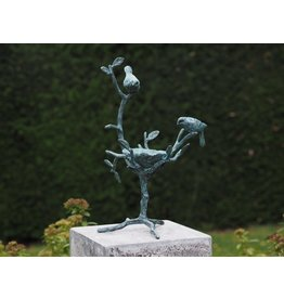 Eliassen Vogelfutterschale Bronze