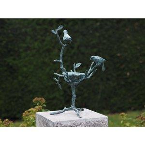 Eliassen Vogelvoederschaal brons