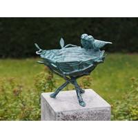 Vogelbad brons