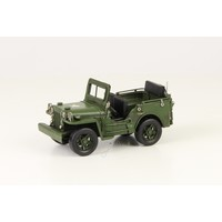 Miniature model Jeep small