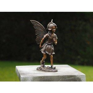 Eliassen Bronze Fairy with flower