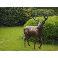 Bronze-Statue großer Hirsch