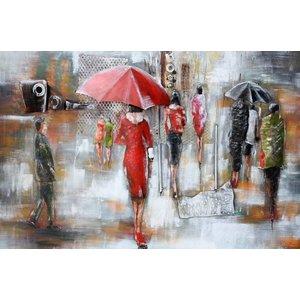 Eliassen 3D Metal painting 80x120cm Raintime