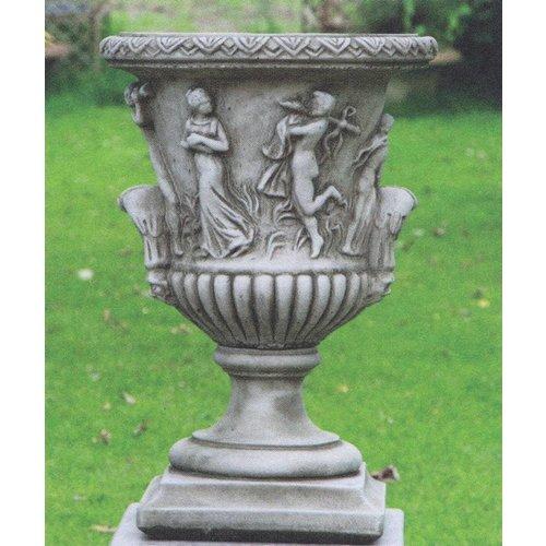 Garden vase Italian small dragonstone
