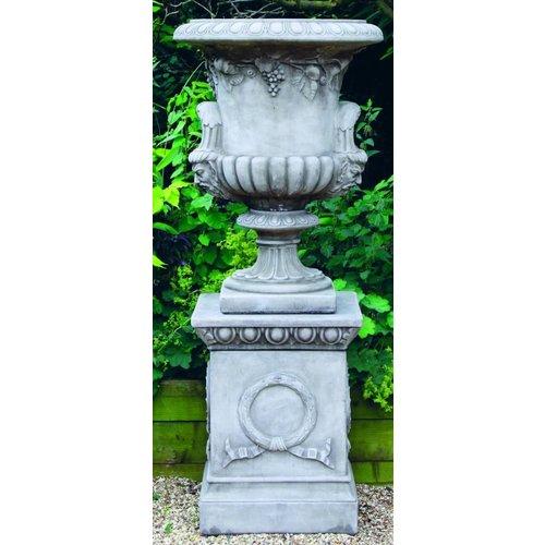 Dragonstone Garten Vase große Regentschaft Drachen Stein