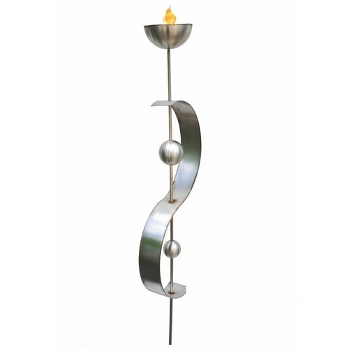 Oil lamp stainless steel Estrella
