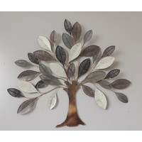 Wall decoration metal 3D tree Lork