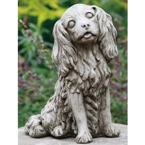 Dragonstone Gartenstatue Cavalier King Charles Hund