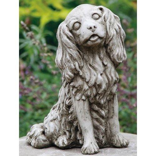 Dragonstone Garden statue Cavalier King Charles dog
