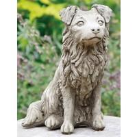 Tuinbeeld Collie hond