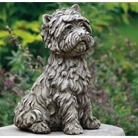 Tuinbeeld West Highland Terrier hond