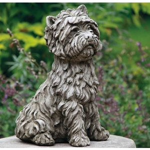 Dragonstone Tuinbeeld West Highland Terrier hond