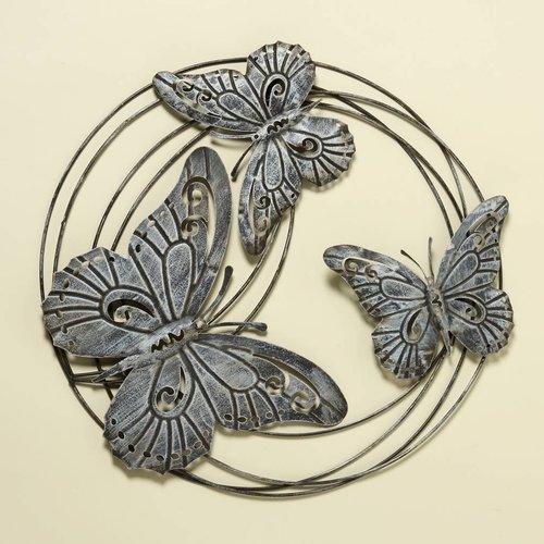 Wall decoration metal 3D Rondo