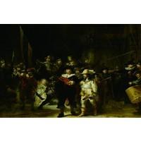 Glasschilderij Nachtwacht 150x100cm