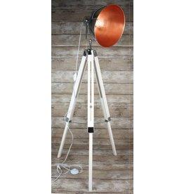 Eliassen Tripod Floor lamp white