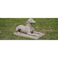 Tuinbeeld Whippet hond
